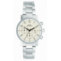 MANAGER woman watch chrono metal