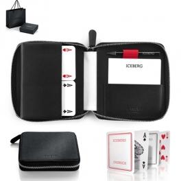 ICEBERG Set pen and credit card holder